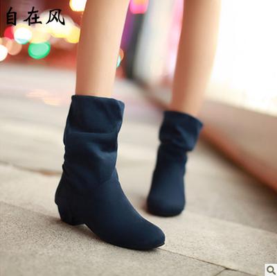 自在风女鞋oL工作鞋学生鞋 3