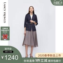 朗姿真丝连衣裙 13