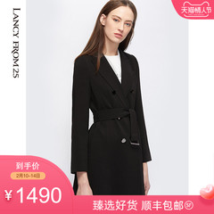 朗姿真丝连衣裙 2