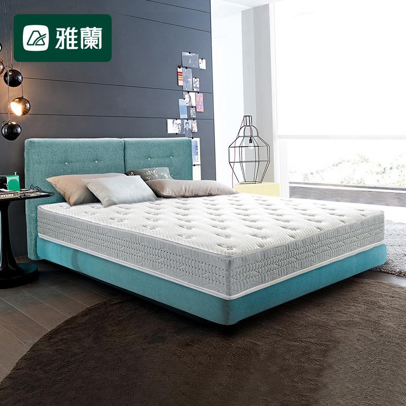 雅兰弹簧床垫1.5米1.8m硬垫 3