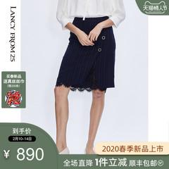 朗姿真丝连衣裙 8