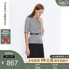 朗姿真丝连衣裙 21