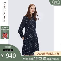朗姿真丝连衣裙 15