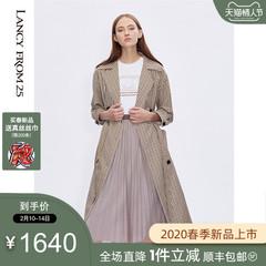 朗姿真丝连衣裙 5
