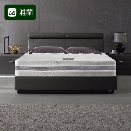 雅兰床垫独立弹簧1.5m1.8乳胶小黑