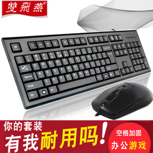 双飞燕鼠标键盘 5
